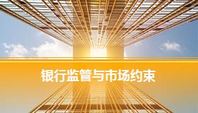 银行监管内容和方法及市场约束机制